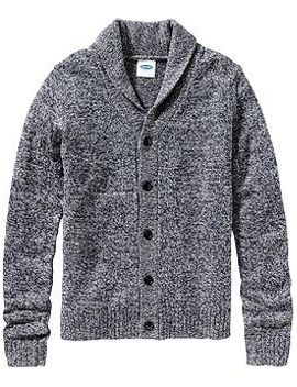 mens-marled-wool-blend-cardis by old-navy