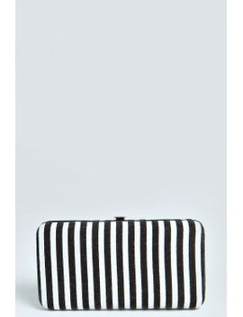 ria-striped-clip-side-purse by boohoo