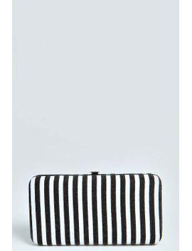 ria-striped-clip-side-purse by boohoo