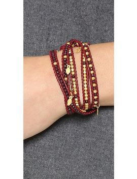 beaded-charm-wrap-bracelet by chan-luu