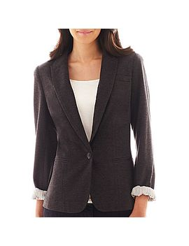 jcp-knit-blazer---petite by general