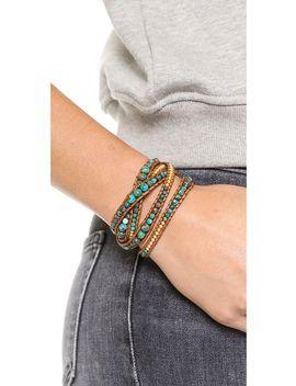 turquoise-wrap-bracelet by chan-luu