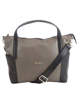 babybeau-sophia-leather-bag,-black_grey by babybeau