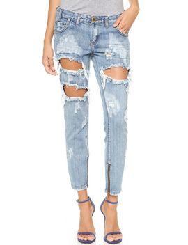 cobain-freebird-jeans by one-teaspoon