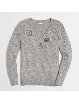 factory-jeweled-donegal-sweater by jcrew