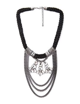 pretty-tough-draped-chain-necklace by forever-21