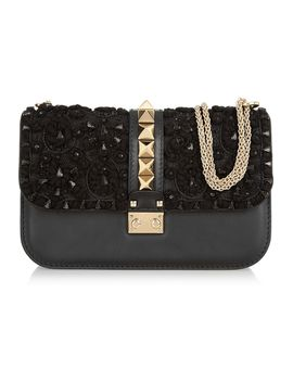 glam-lock-embellished-leather-shoulder-bag by valentino