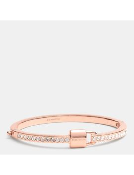padlockand-pave-hinged-bangle by coach