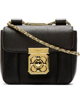 black-grained-leather-mini-elsie-bag by chloé