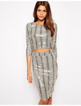 tfnc-crop-top-in-scallop-sequins by tfnc