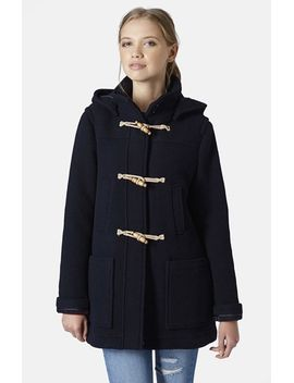 hooded-duffle-coat by topshop
