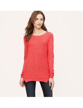 textural-tunic-sweater by loft