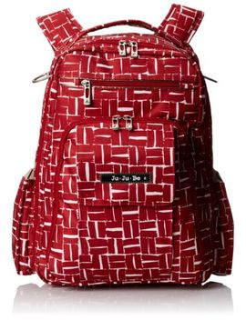 ju-ju-be-classic-collection-be-right-back-backpack-diaper-bag,-blooming-romance by ju-ju-be