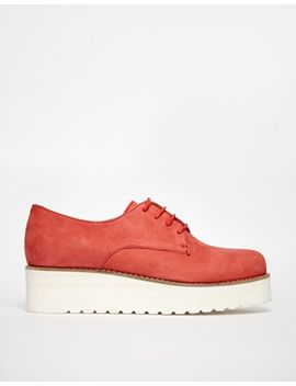 shoe-biz-leather-creeper-flat-shoes by shoe-biz