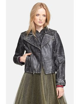 leather-biker-jacket by marc-by-marc-jacobs
