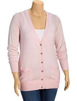 womens-plus-v-neck-cardigans by old-navy