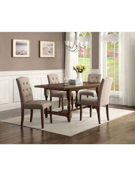 better-homes-and-gardens-providence-5-piece-dining-set,-brown by better-homes-and-gardens