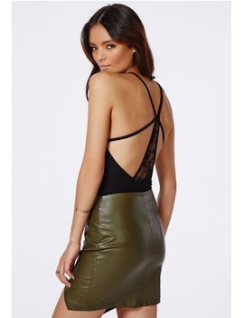 slyvia-strappy-bodysuit-with-crossover-and-lace-back-detail by missguided