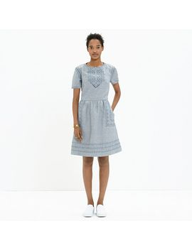 fortune-dress-in-rainy-day by madewell