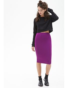 classic-knit-pencil-skirt by forever-21