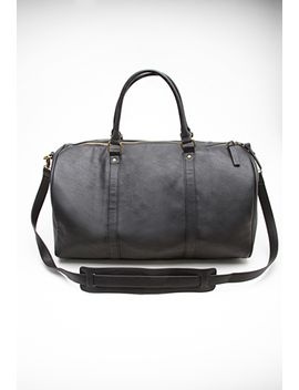 faux-leather-duffle-bag by forever-21