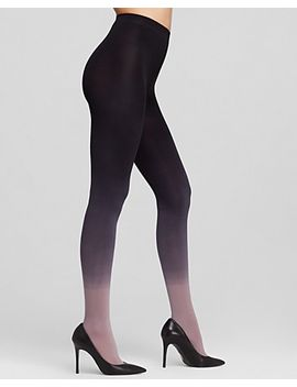 ombré-tights by dkny