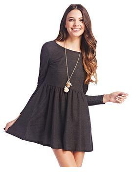 freshman™-babydoll-dress by wet-seal