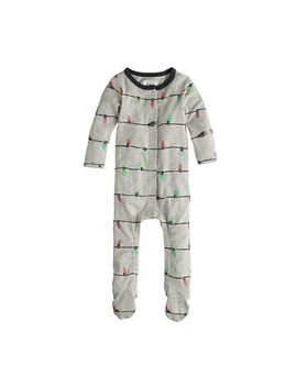 baby-footsie-coverall-in-glow-in-the-dark-christmas-lights by jcrew