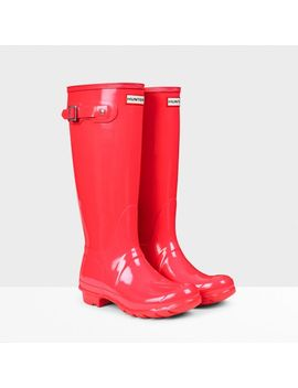 womens-original-tall-gloss-rain-boots by hunter
