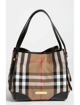 house-check-tote by burberry