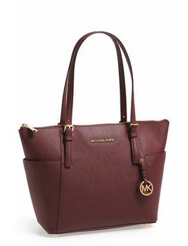 jet-set-leather-tote by michael-michael-kors