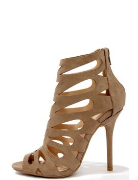 chic-reputation-taupe-caged-high-heel-sandals by lulus