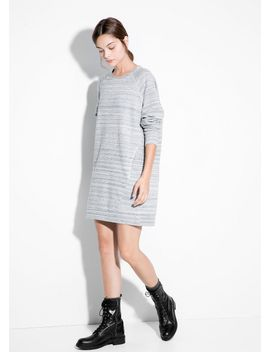flecked-striped-dress by mango