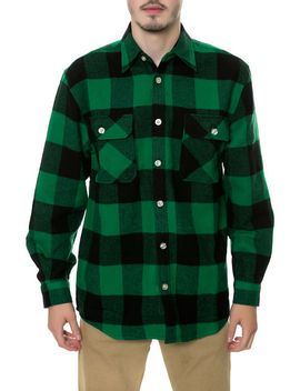 the-heavyweight-flannel-in-green by rothco