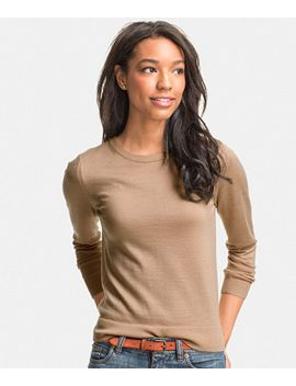 signature-merino-crewneck-sweater by llbean