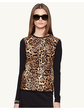 leopard-print-crewneck-sweater by ralph-lauren