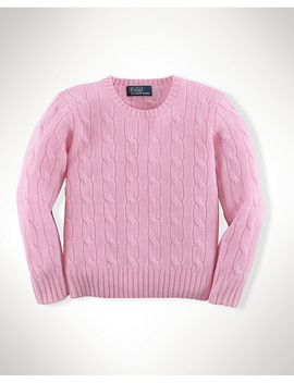cabled-cashmere-sweater by ralph-lauren