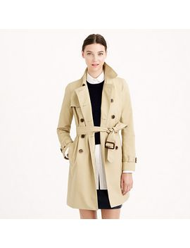 icon-trench-coat by jcrew