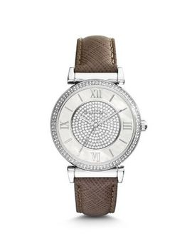 catlin-pavé-silver-tone-watch by michael-kors