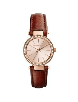 petite-darci-rose-gold-tone-leather-watch by michael-kors