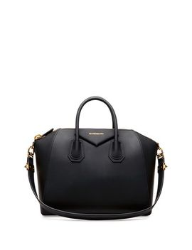antigona-medium-satchel-bag,-black by givenchy