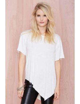 nasty-gal-playing-favorites-tee---ivory by nasty-gal