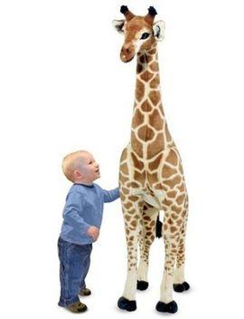 melissa-&-doug-giant-giraffe---lifelike-stuffed-animal-(over-4-feet-tall) by melissa-&-doug