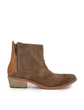 h-by-hudson-fop-zip-side-ankle-boots by h-by-hudson