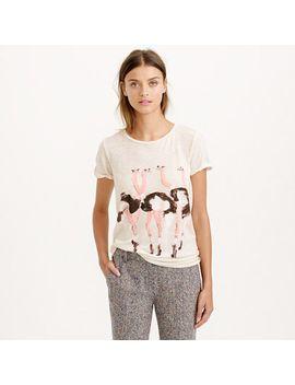 donald-robertson-for-jcrew-ostrich-t-shirt by jcrew