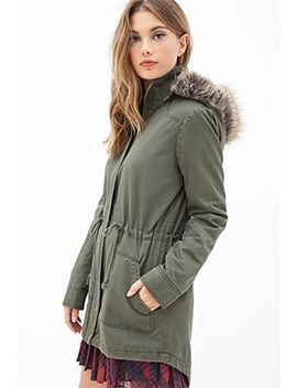faux-fur-utility-jacket by forever-21