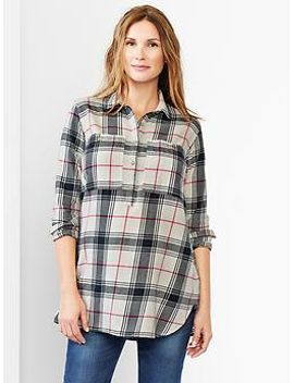 large-plaid-popover-shirt by gap