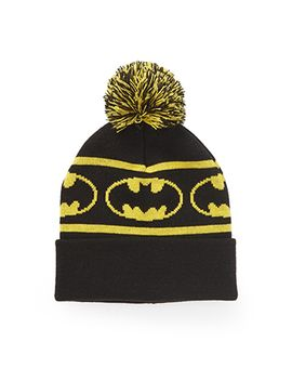 batman-pom-beanie by forever-21