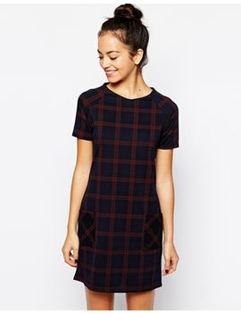 new-look-check-print-shift-dress by new-look