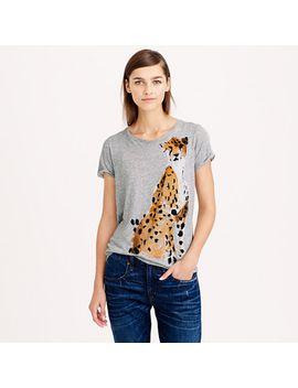 donald-robertson-for-jcrew-cheetah-t-shirt by jcrew